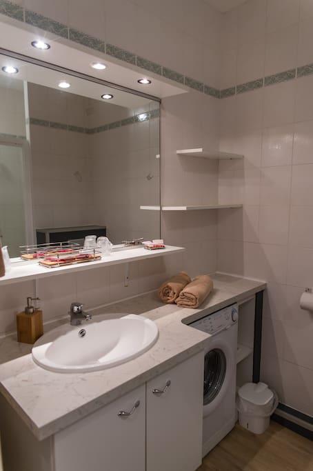 Sale de bain studio