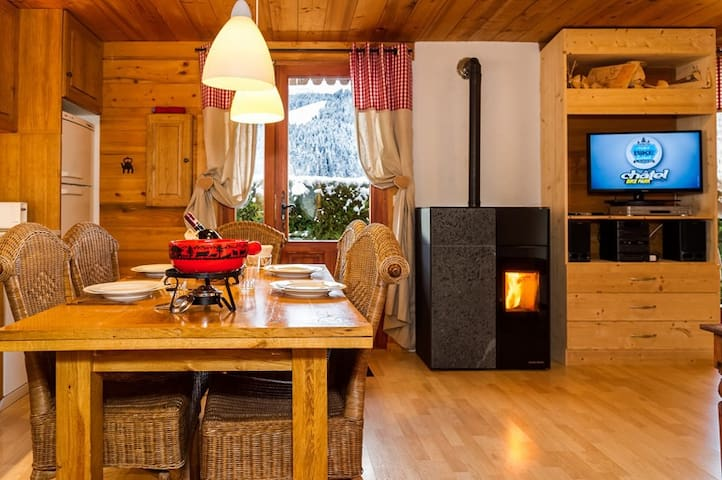 Nice apartment in a chalet for 4 persons