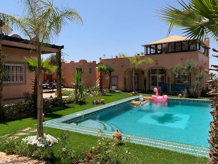 Villa au cadre exeptionnel Marrakech