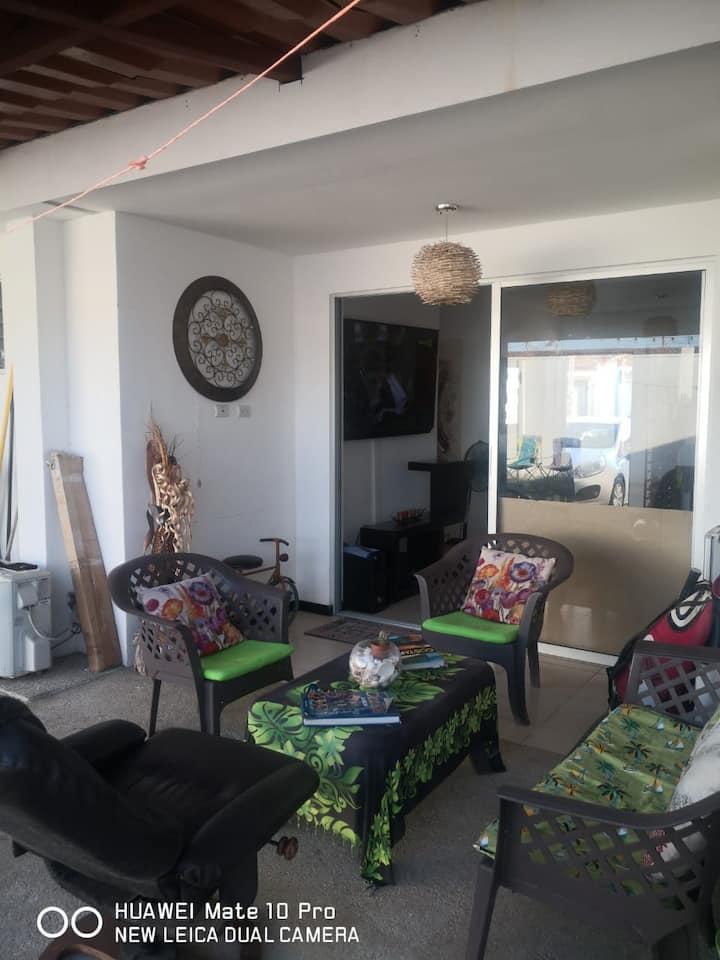 Casa de playa condominio Malaga bejuco