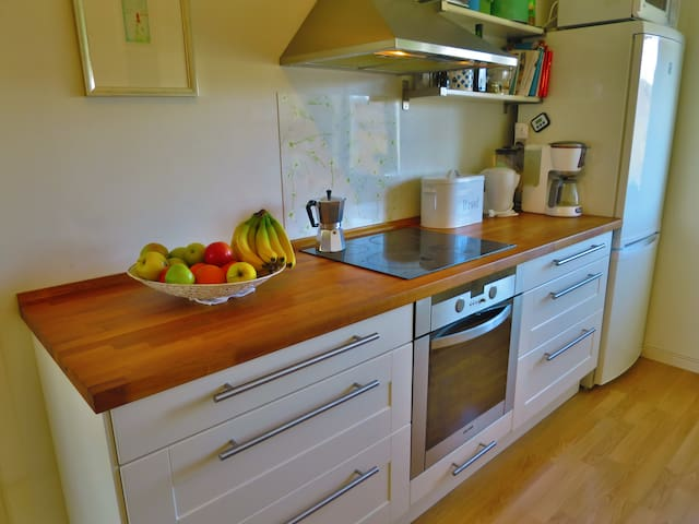 Practical kitchen with everything you need