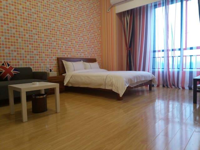 广州萝岗科学城演艺中心旁边主题公寓 - Guangzhou - Lakás