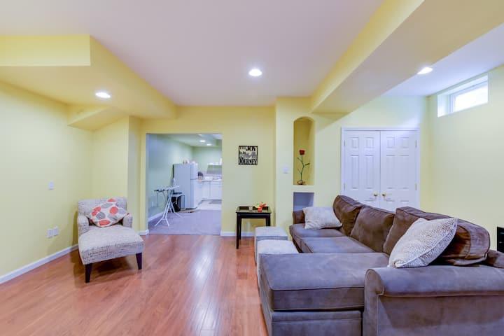 So Nice 2 Bedroom Basement Suite(min 6 month term)