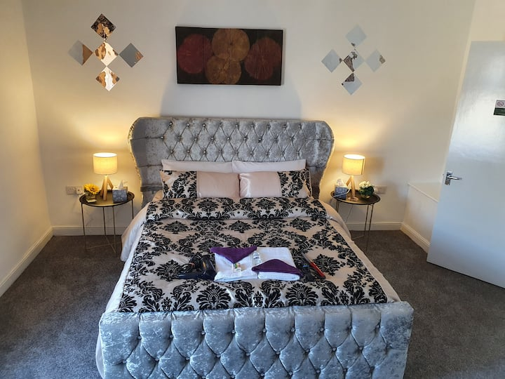 ☆♡ king Bed Premium luxury suite with Parking ◇☆♡