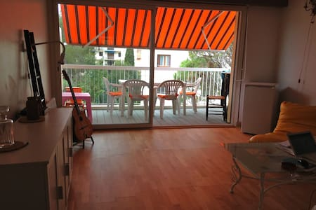 apartment 2 bright rooms 50 meters from the sea - Saint-Raphaël