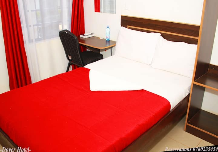 Clean, secure Homely budget hotel.