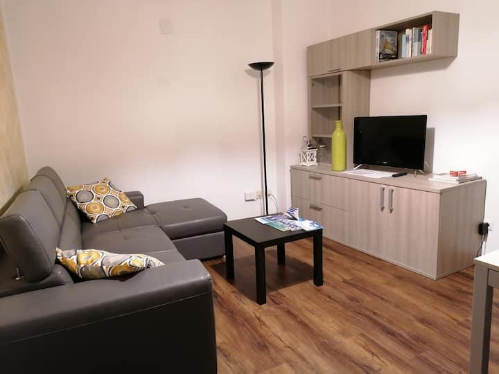 Ampio appartamento in centro Molveno