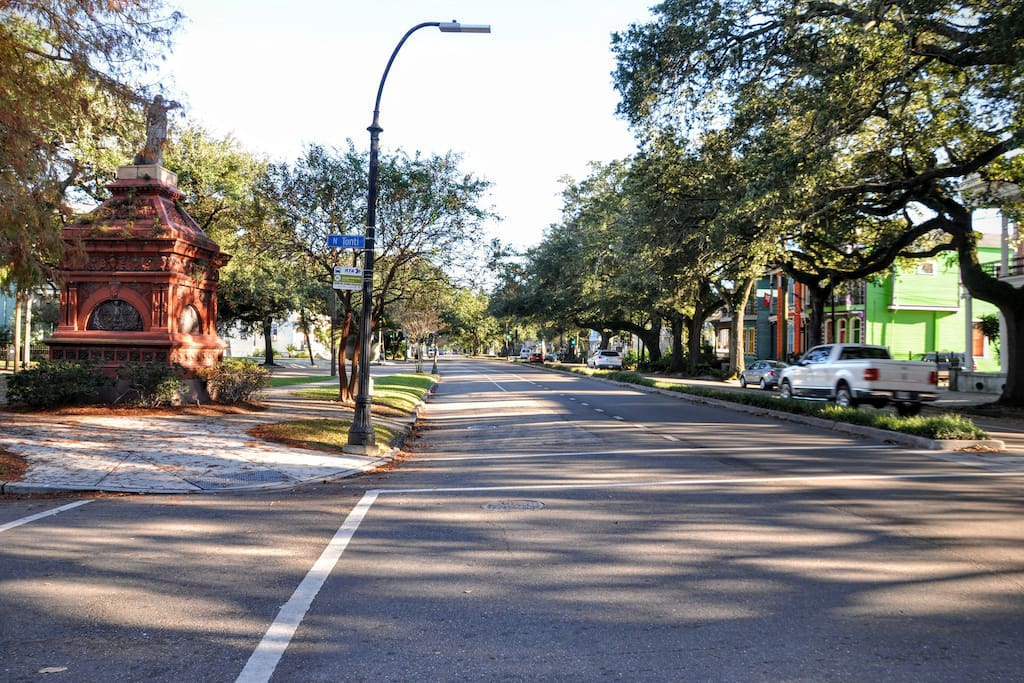 Our tree-lined and historic neighborhood - Esplanade Ave.