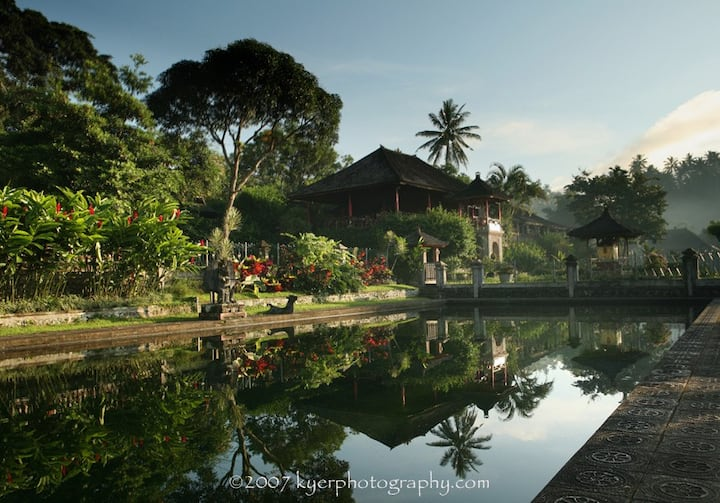 Villa Tirta Ayu at Tirta Gangga Water Garden
