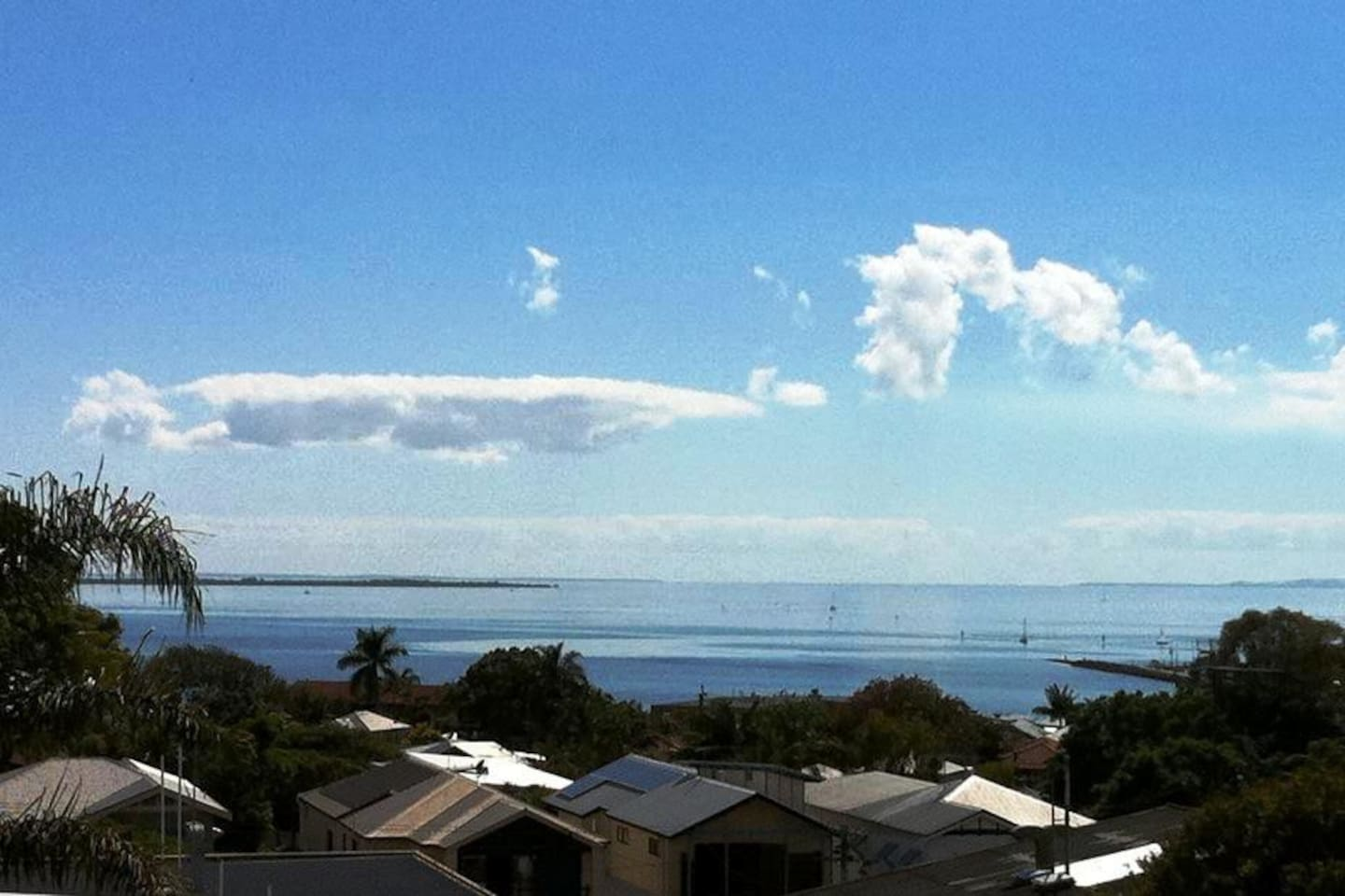 Moreton Bay view from top deck