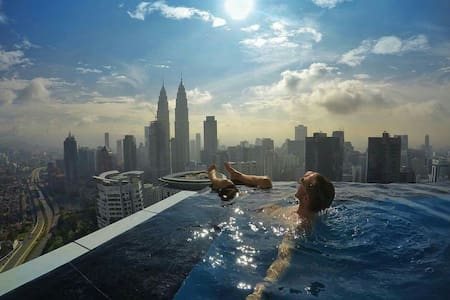 Modern Entire Apartment,Sky Pool,Near KLCC - 吉隆坡