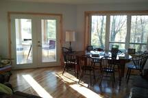 Great room, living/dining end