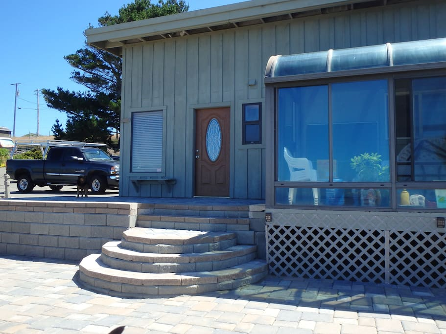 Front of Unit Onto Patio