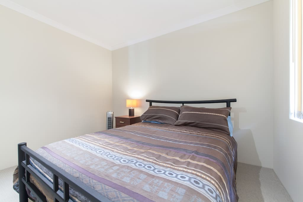 Your private double bed