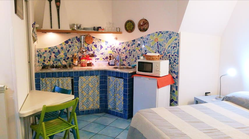 Apartment in the very center of Procida