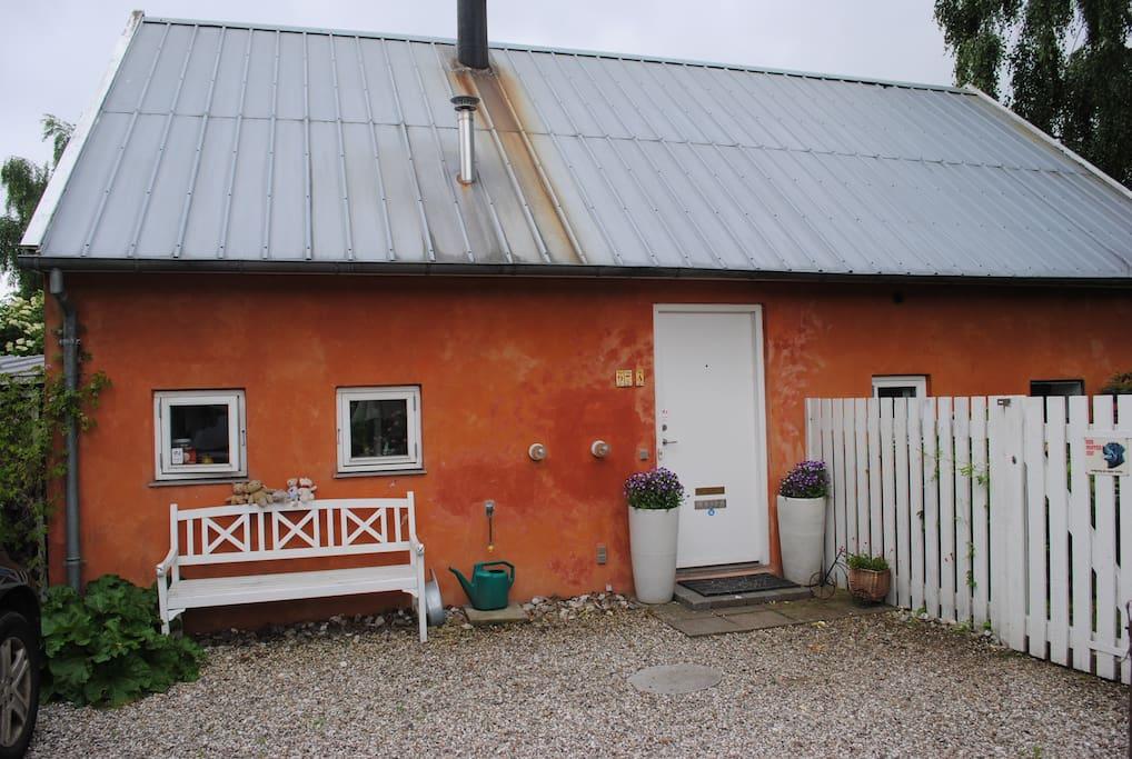 Unique mediterranean style cottage maisons louer hellerup hovedstaden - Maison style cottage ...