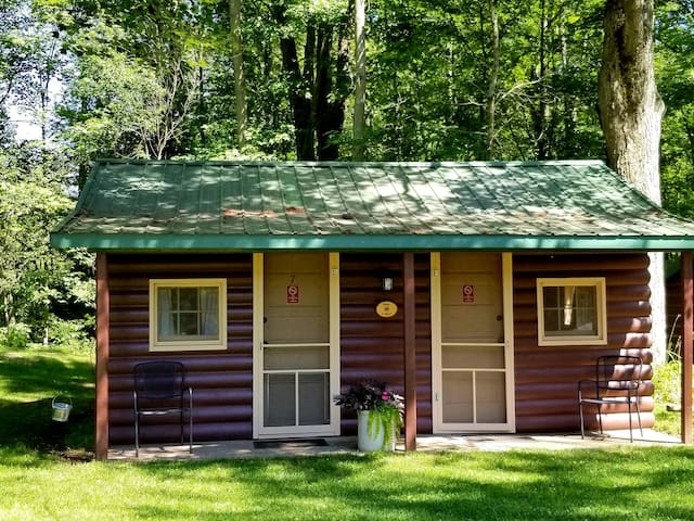 CABIN w/two rooms, near Manistee & Ludington