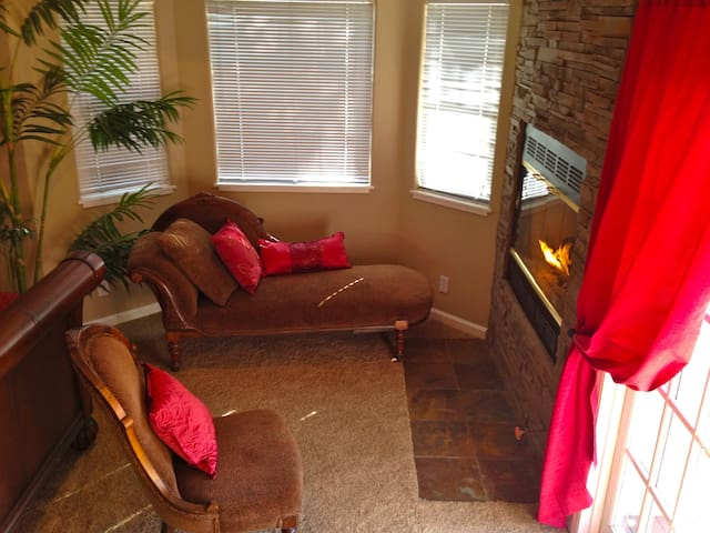 Fireplace in Master Suite
