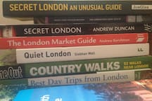 Lots of books to help you plan your stay