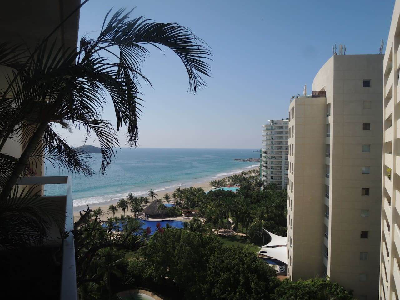 Amazing Ocean View from Balcony