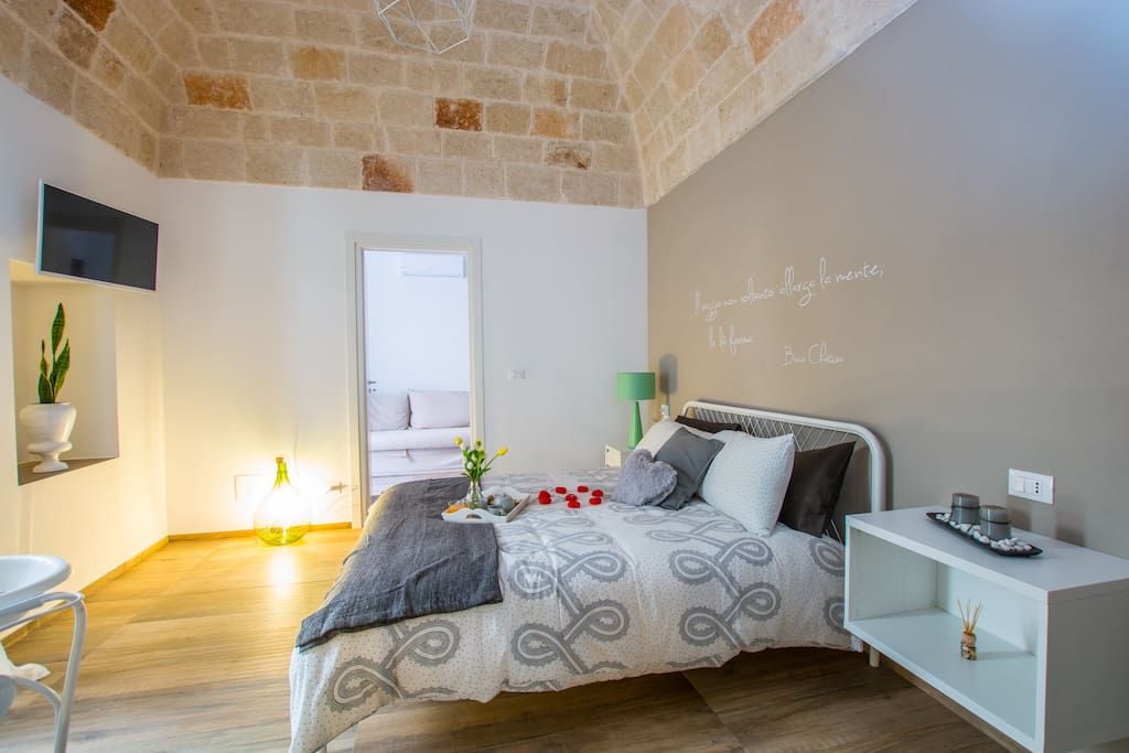 Suite MiLord - panoranica camera letto