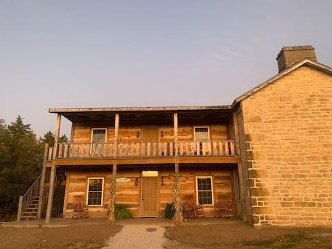 Historic Hildebrand Farmhouse (upper level)