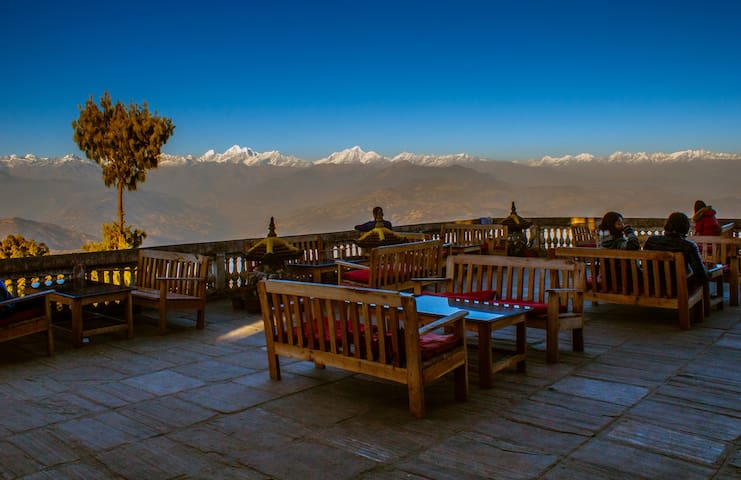 Peaceful Cottage & Cafe du Mont - Nagarkot - Casa