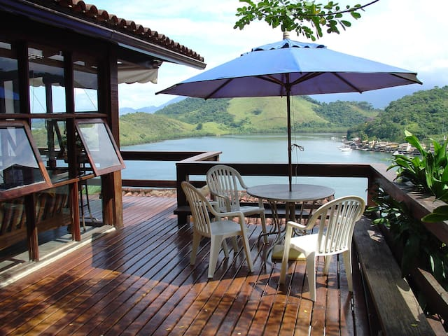 House 3 bdr, with wonderful view RJ - Angra dos Reis - Huis
