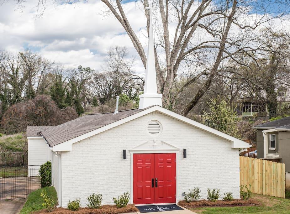 The Tiny White Church