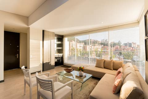 Luxury penhouse, with beautiful views over theCity