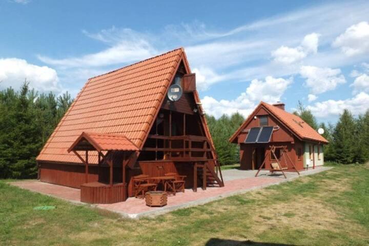 Retreat 'Zacisze' II Kożuchy Wielkie - Gizycko - Rumah