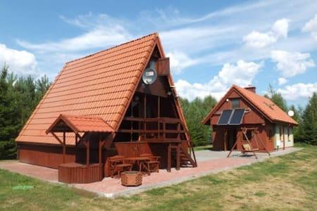 Retreat 'Zacisze' II Kożuchy Wielkie - Gizycko - Maison