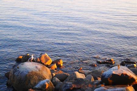 STILLWATER BEACH HOUSE - Powell River - Cabin