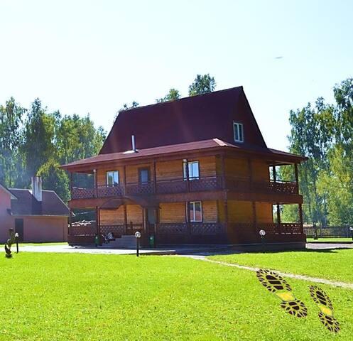 Дом Охотников недалеко от Минска - Smaliavičy - Casa de campo
