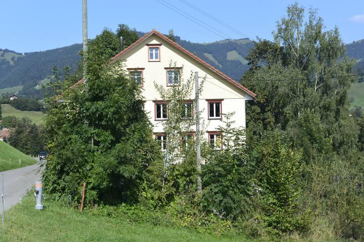 Helle Dachwohnung im Goldingertal - Goldingen - Daire