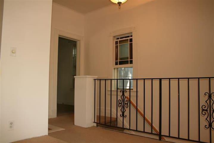 Entrance into Bedroom 1.