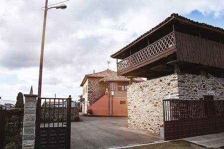 Casa Rural en Asturias con jardín.