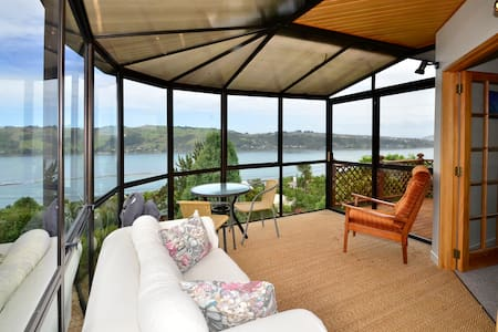 Modern home 5mn to city w fab view! - Dunedin - Talo