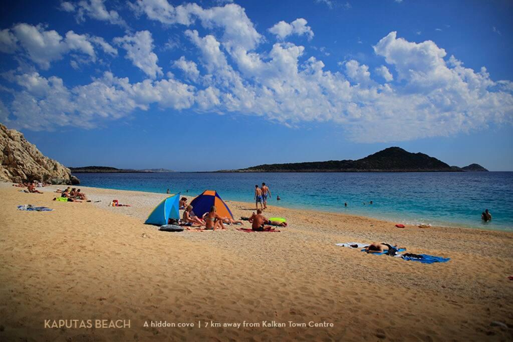 Patara Beach a short bus ride from the town