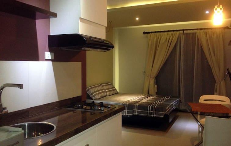 Cozy Studio(3) 3 min to White Beach - Malay - Appartement