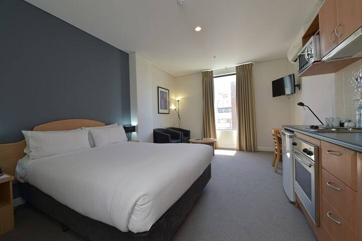Central City Perth Hotel Studio Apartment