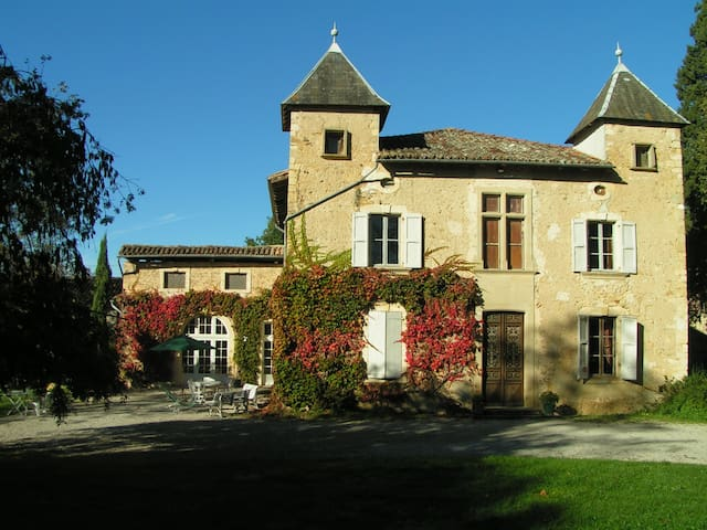 Mansion for 2 or 3 families - Aurignac - Dom