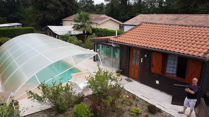 Gîte avec piscine
