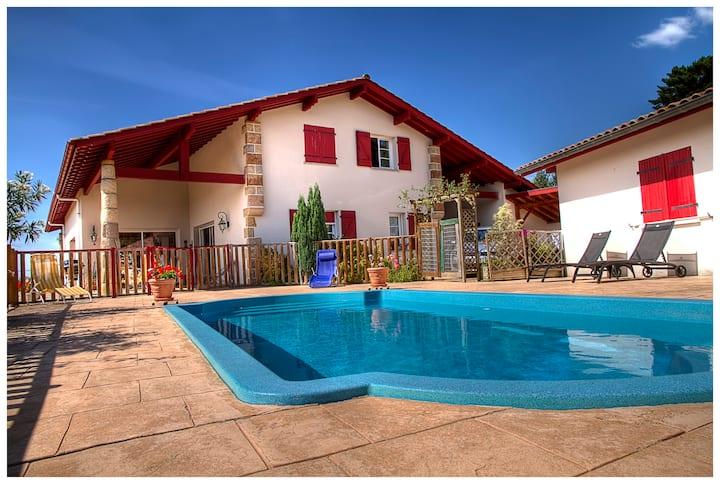 chambre hôtes avec piscine 2 pers
