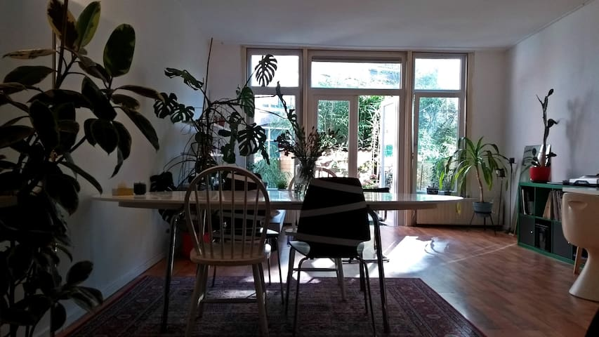 Comfy apartment with garden in Deflshaven Centre.
