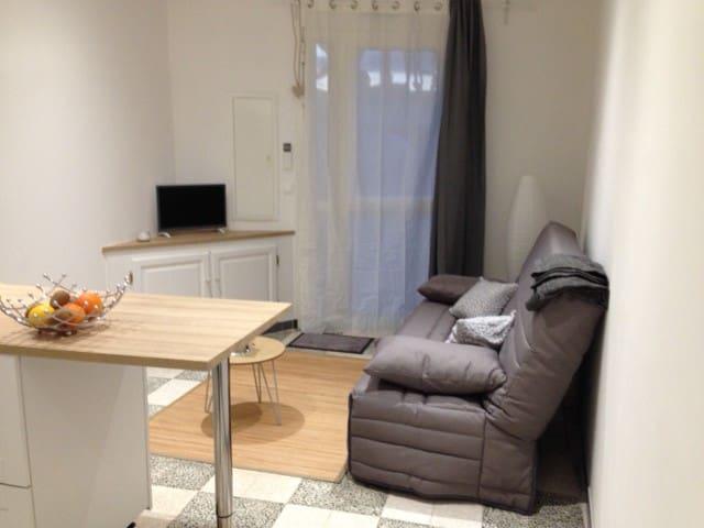 studio accueillant et pratique à Marseillan VILLE - Marseillan - Apartment