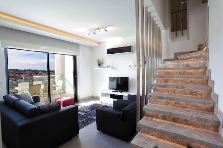 Brand-new modern apt in Spa Resort