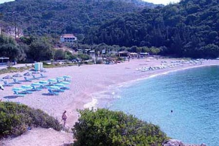 Apt 3 for 2-20m from the beach!!! - Sivota