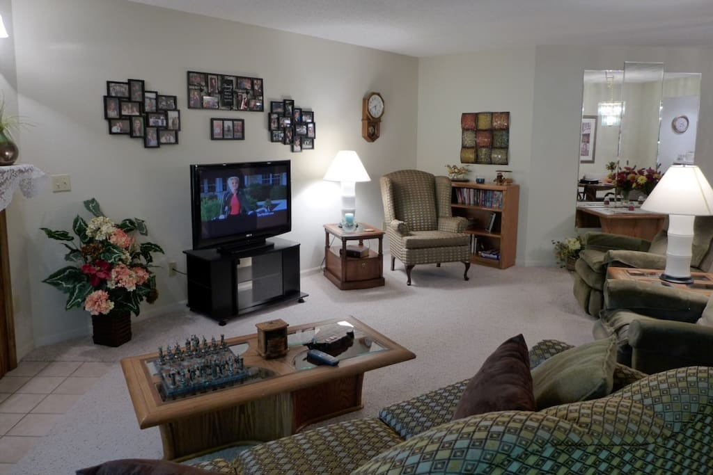 Living Room area with Sofa/Bed