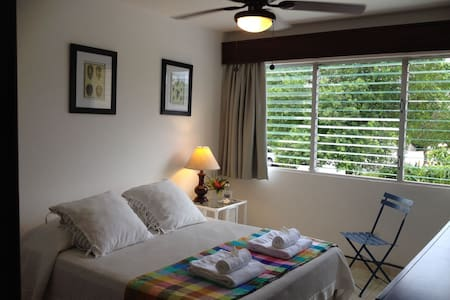 SEAFRONT: Quiet room in tropical nature -good WIFI - Punta Cana